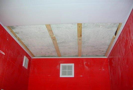 Навесной потолок из ПВХ