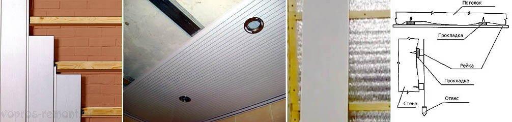 Как обшить стены пластиковыми панелями