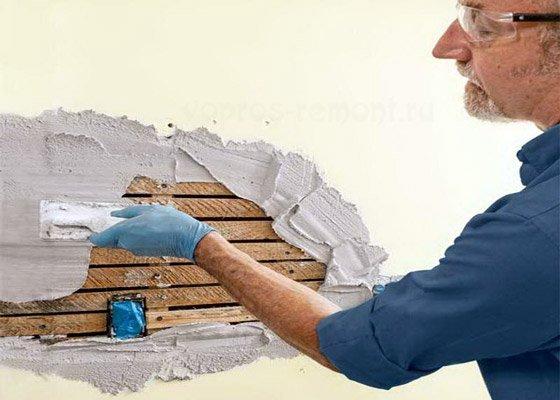 Шпаклевка стен своими руками