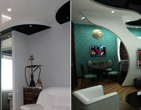Двухуровневые потолки из гипсокартона. Монтаж своими руками