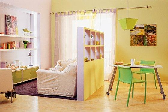 Как поделить комнату на зоны