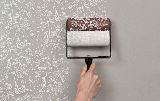 Красим стены водоэмульсинной краской