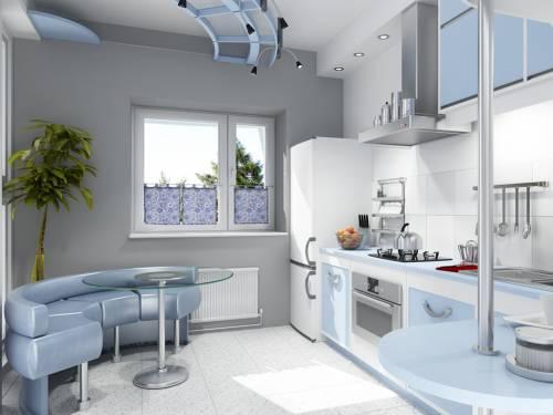 Дизайн большой кухни своими руками