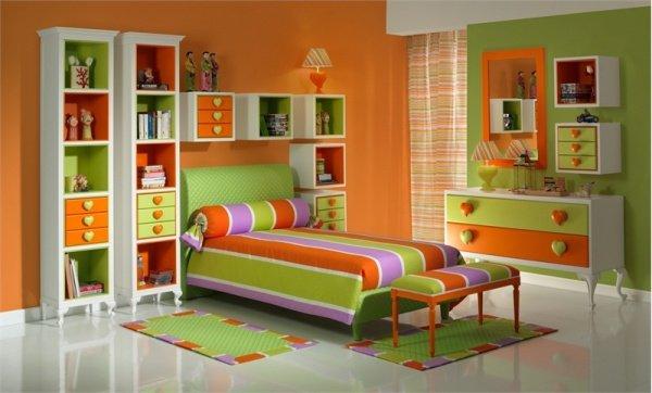 Дизайн проект комнаты ребенка