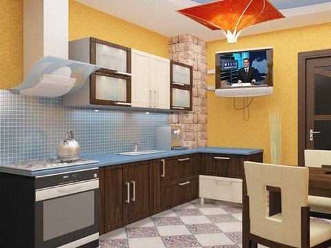 Дизайн проект кухни столовой