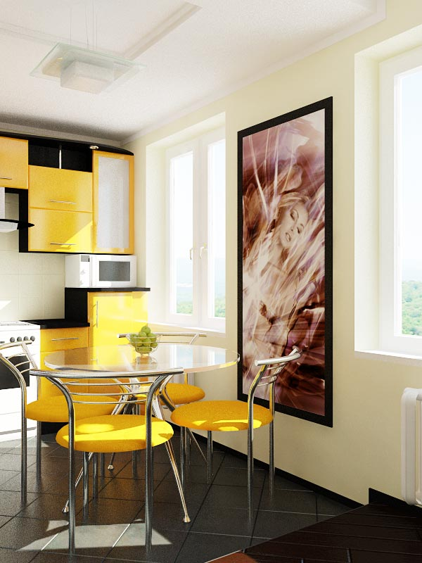 Дизайн однокомнатной квартиры 40 м