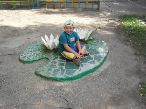 Дизайн участка детского сада