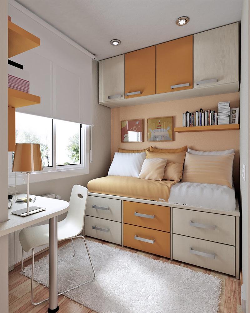 Мысль дизайна для маленькой квартиры