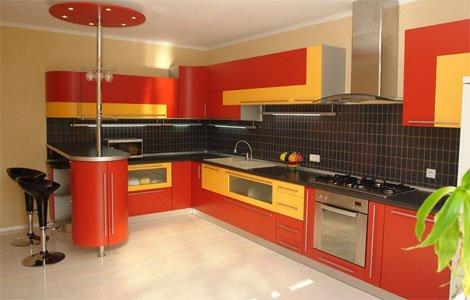 Интерьер кухни 12 кв.м