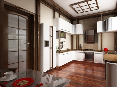 Дизайн кухни 9 метров
