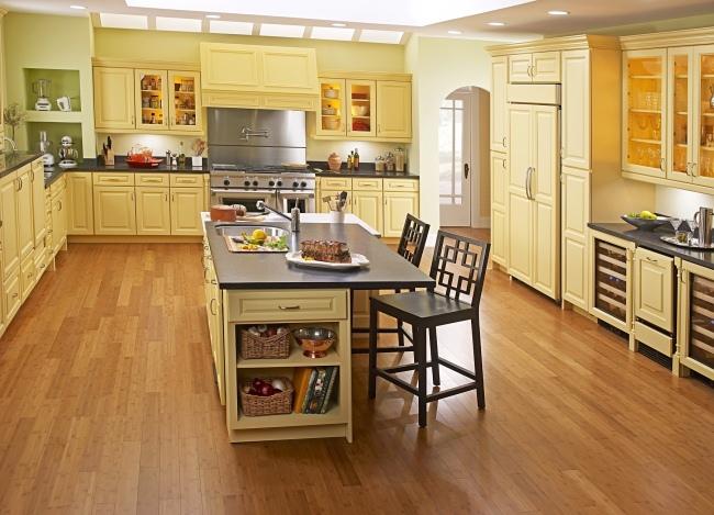 Какой выбрать ламинат для кухни