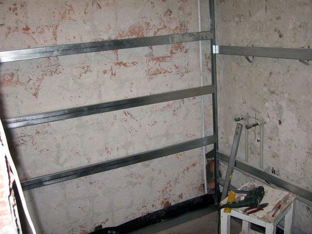 Отделка стен панелями из МДФ