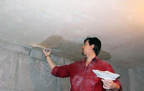 Как подготовить потолок к покраске