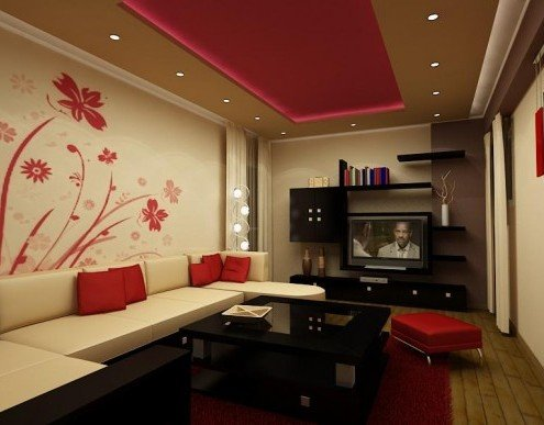 Дизайн гостиной 16 кв м