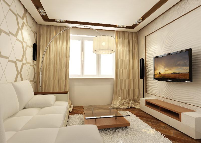 Дизайн двух комнатной квартиры