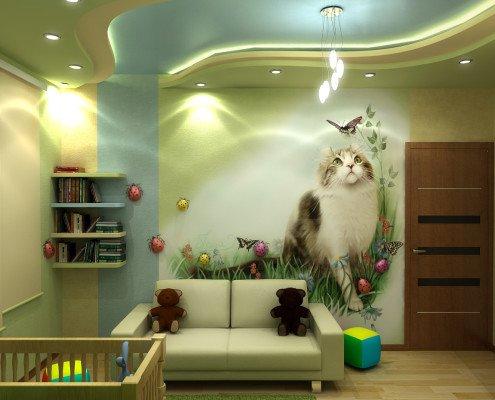 Красивый интерьер детской комнаты
