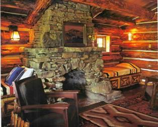 Интерьер гостиной в частном доме