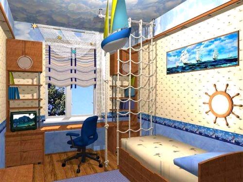 Дизайн спальни детской