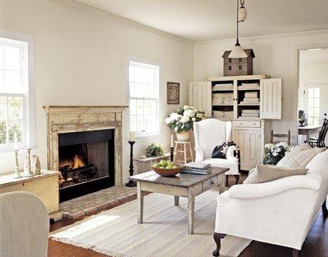 Интерьер гостинной в современном классическом стиле