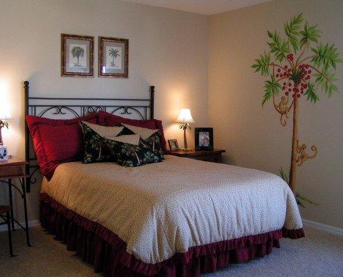 Дизайн спальни 8 кв м