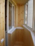Чем отделать балкон снутри