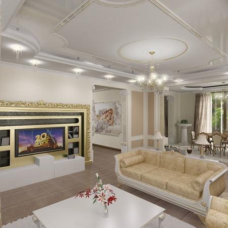 дизайн интерьера домов особняков
