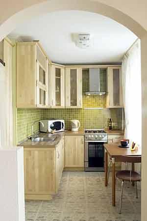 Дизайн кухни маленький