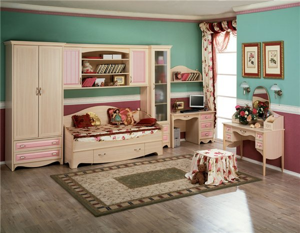 Дизайн малеханькой детской комнаты