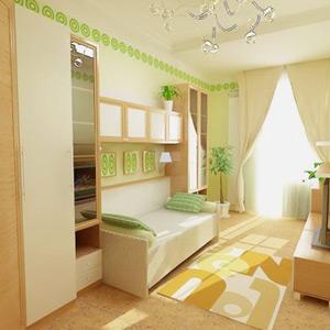Дизайн маленький комнаты