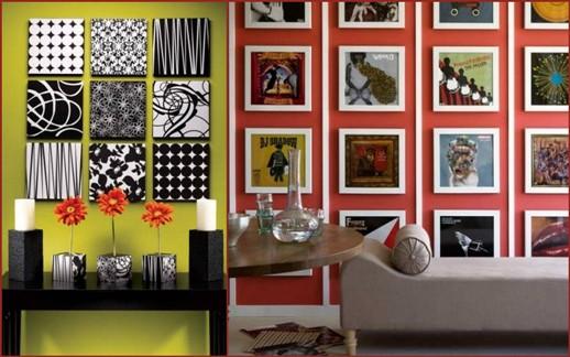 Дизайн стенок краской