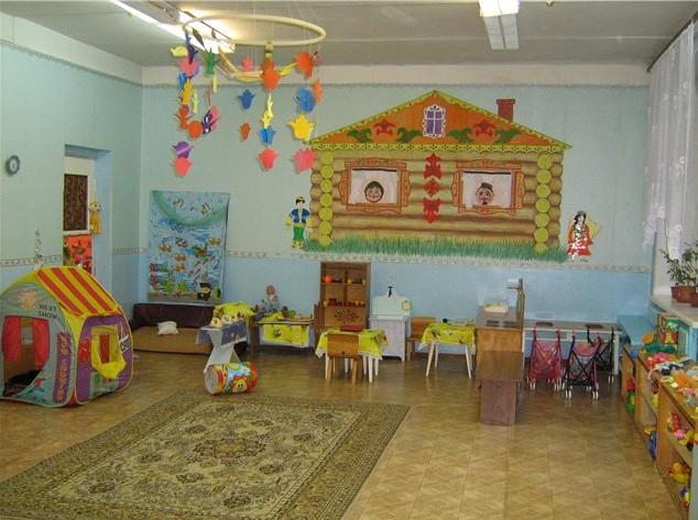 дизайн стенок в детском саду