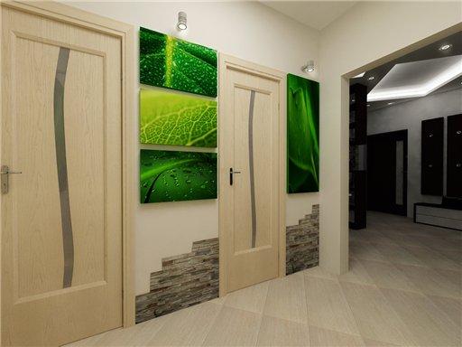 дизайн узенького коридора в квартире
