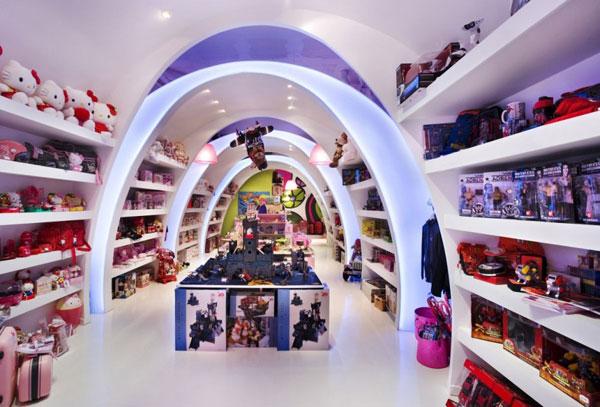 интерьер детского магазина