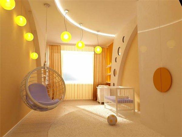 Интерьер детской комнаты для ребенка