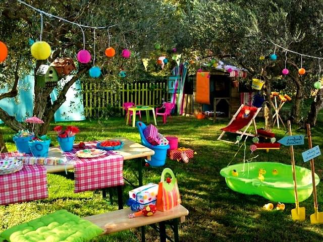 Интерьер детской площадки