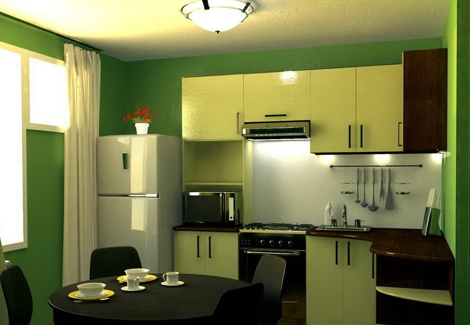 Кухня 7 метров дизайн