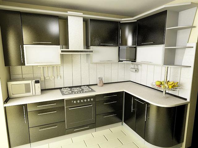 Кухня дизайн 5 метров