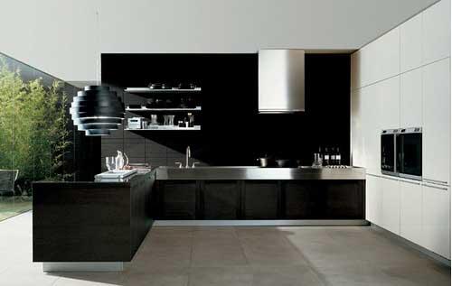 Кухня в стиле миниатюризм