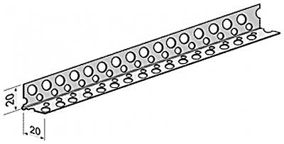 Перфорированная угловая накладка