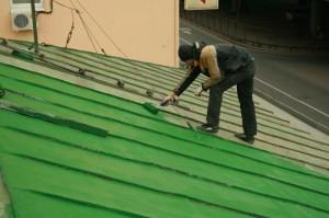 Ремонт крыши из профлиста