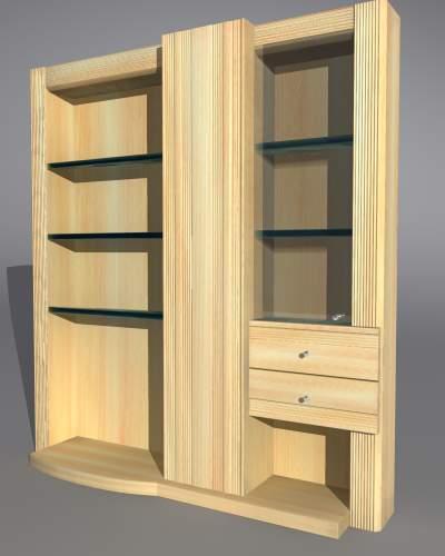 Сборный модульный шкаф
