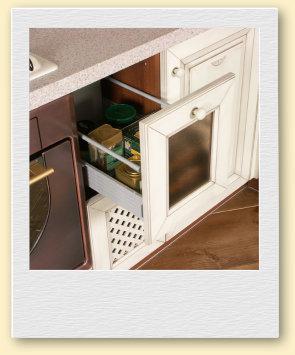 Комфортная фурнитура на кухне